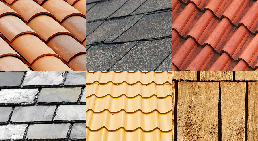 Types of Material for Residential Roofing